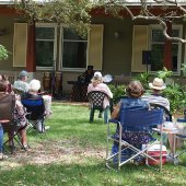 jazz on the lawn at the Destin Library