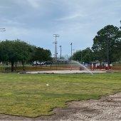 new sod at large Destin Dog Park