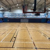 Community Center Gym Floor Project Complete