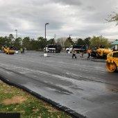 annex parking lot resurfacing