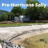 Pre-Hurricane Sally photo of Captain Leonard Destin Park Beach Area
