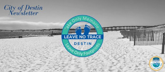 Leave No Trace logo and picture of Norriego Point Park