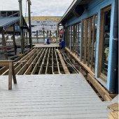 harbor boardwalk board replacement