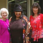 Wen Livingston, Cheryl Jones and Wendy Krieg