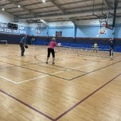 Indoor Pickleball at Destin Community Center