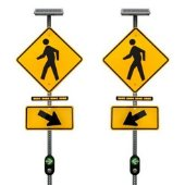 Rapid Flashing Beacon Signs