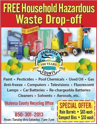 Free Hazardous Waste Drop-off