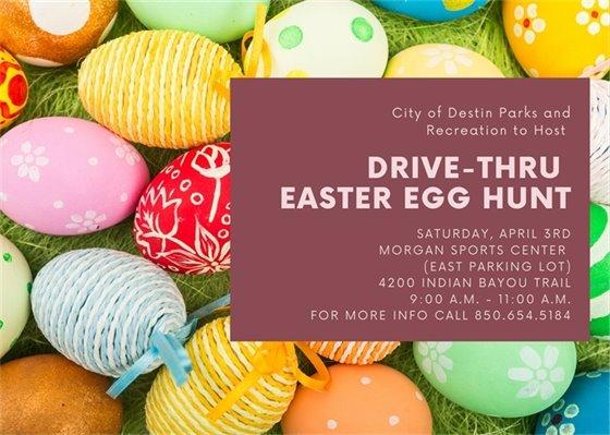 Drive Thru Easter Egg Hunt Information
