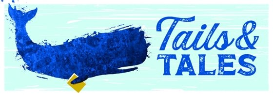 Tails and Tales logo for summer reading program