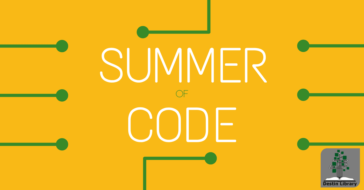 Destin Library Summer of Code robotics program