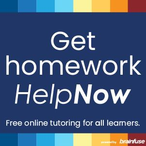 Click here to get homework help now with Brainfuse HelpNow.
