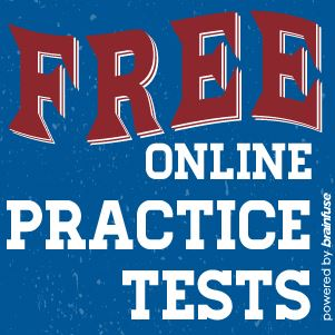 Click here to access free online practice tests with Brainfuse HelpNow.