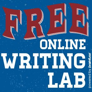 Click here to access our free online writing lab with Brainfuse HelpNow.