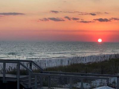 Henderson Beach Sunset Photo