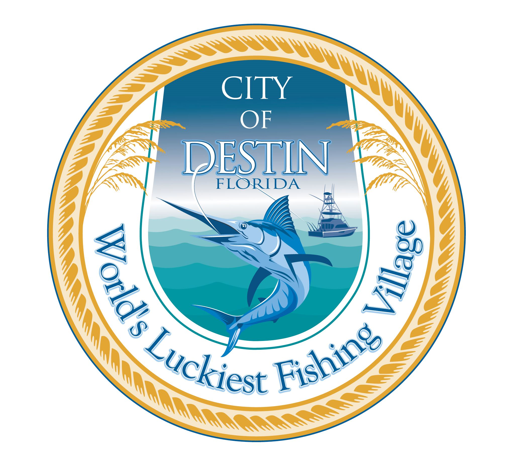 Image of the City of Destin Logo