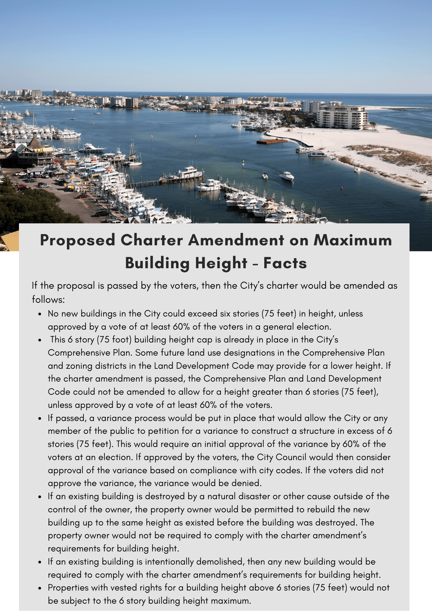 Proposed Charter Amendment on Maximum Building Height - Facts