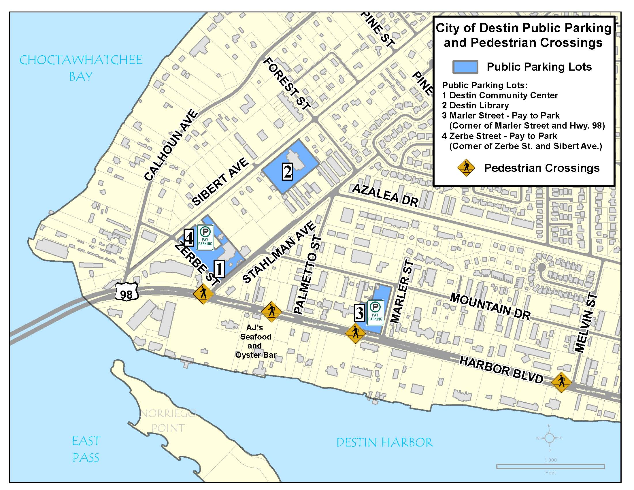 Destin Harbor District Parking | Destin, FL - Official Website