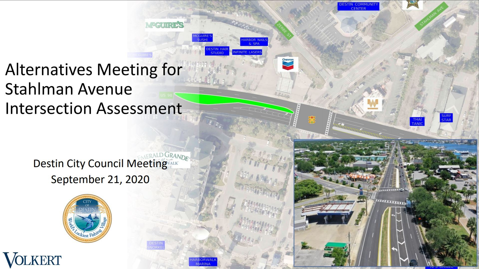 Stahlman Ave Intersection Assessment