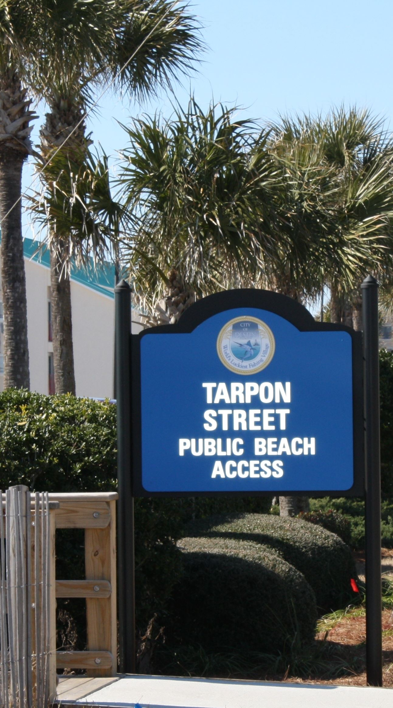 Tarpon St Beach Access