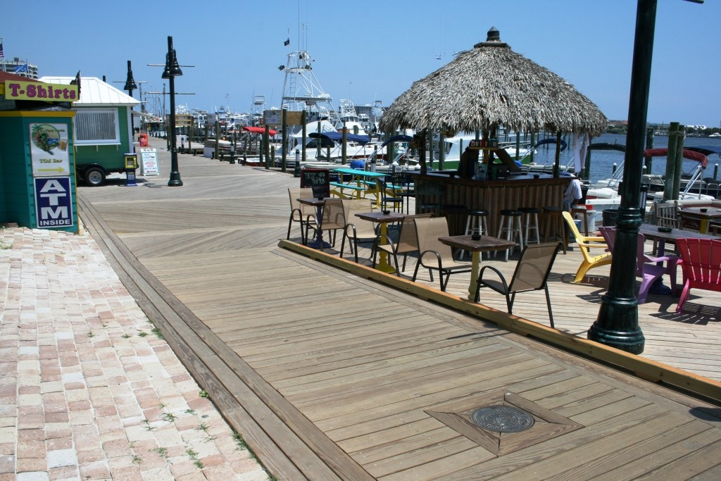boardwalk after